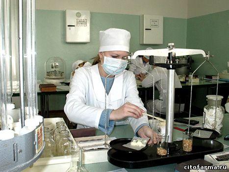 Проблемы производства экстемпоральных лекарственных средств в России