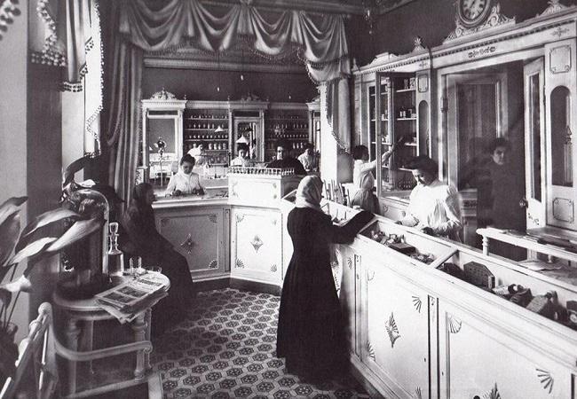 первая женская аптека в Питере